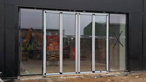 Bi-folding doors